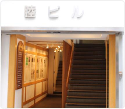 事務所ビル入り口